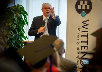 Joy and Gratitude  at Wittenborg's 2019 Winter Graduation Ceremony