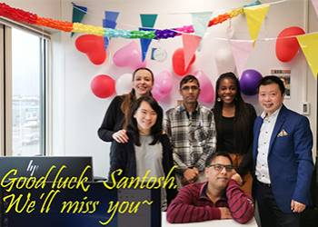 Sadness at Farewell of Student Registrar, Santosh Aryal