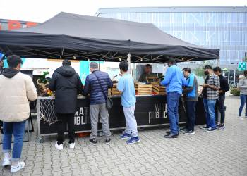 Wittenborg Annual BBQ a Hit with Students & Staff