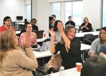 Wittenborg Students Flex Debate Muscles against American Students
