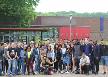 Wittenborg Students at Open-Air Museum Arnhem