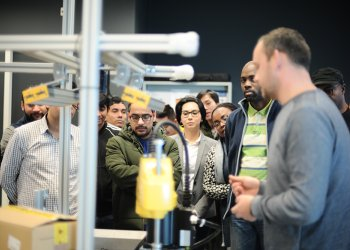 Robots and Cobots have Wittenborg Students in Awe