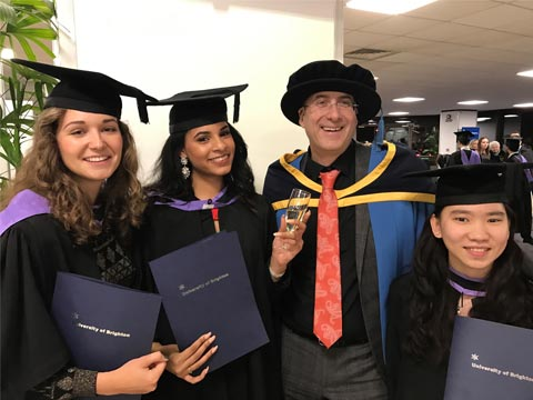 Brighton Graduation Ceremony