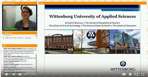 Wittenborg Open Day Webinar