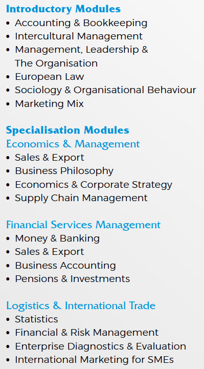 International Business Degree >> Iba International Business Administration