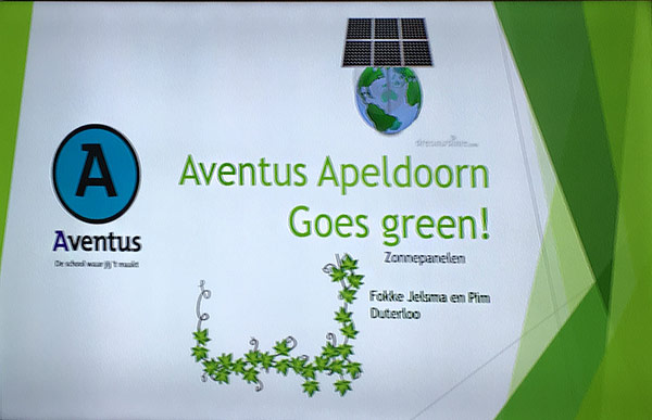 Aventus College Students Test Economic Tool Developed by Wittenborg to Encourage Renewable Energy Use