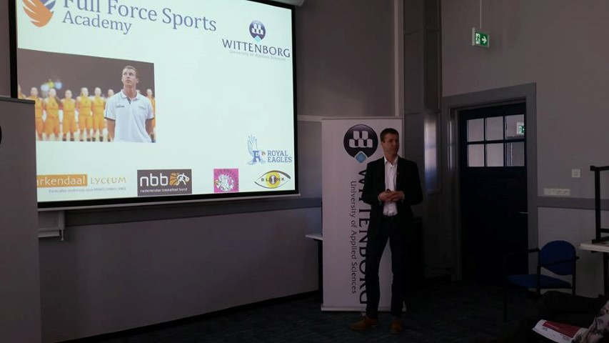 The event also served as an introduction to Wittenborg's new MSc in Sport Business & Management,