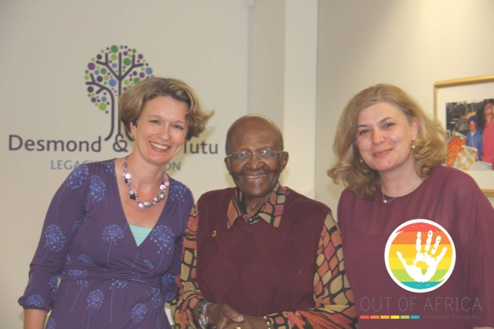 Meeting Nobel Prize Winner Desmond Tutu