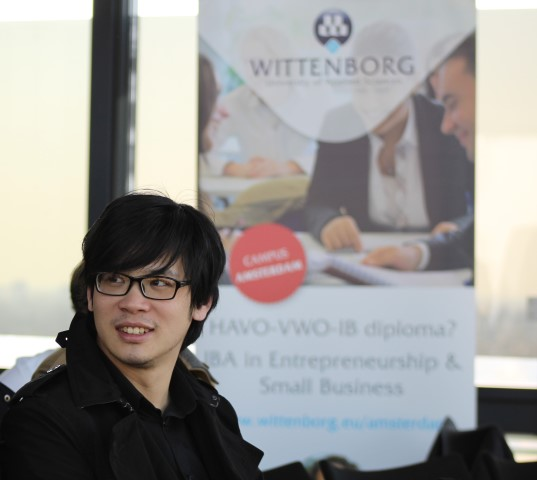 Almost 100 students from 40 different nationalities working on one crowdfunding campaign? Yes! Wittenborg University is out to prove it can be done.