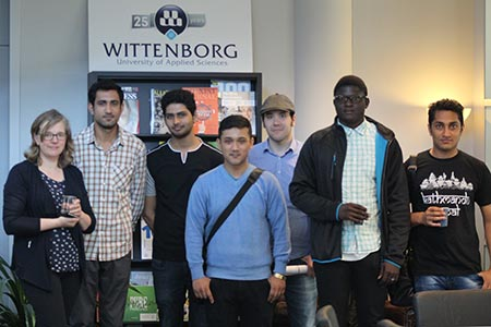 """Wittenborg has a Good Reputation in My Country,"" Says New Student During Introduction Week"