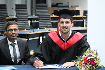 Excellent Results for Wittenborg's First Part-Time MSc Graduates