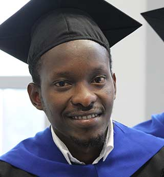 Graduate from Rwanda Sets off for Career in Publishing