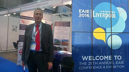 EAIE President Under Fire About Turkey at Liverpool Conference attended by Wittenborg Management