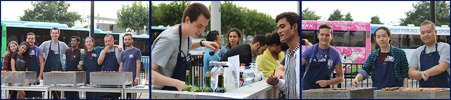 New Academic Year Kicks off with Student Barbecue