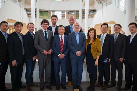 China's Top Sport University Visits Wittenborg