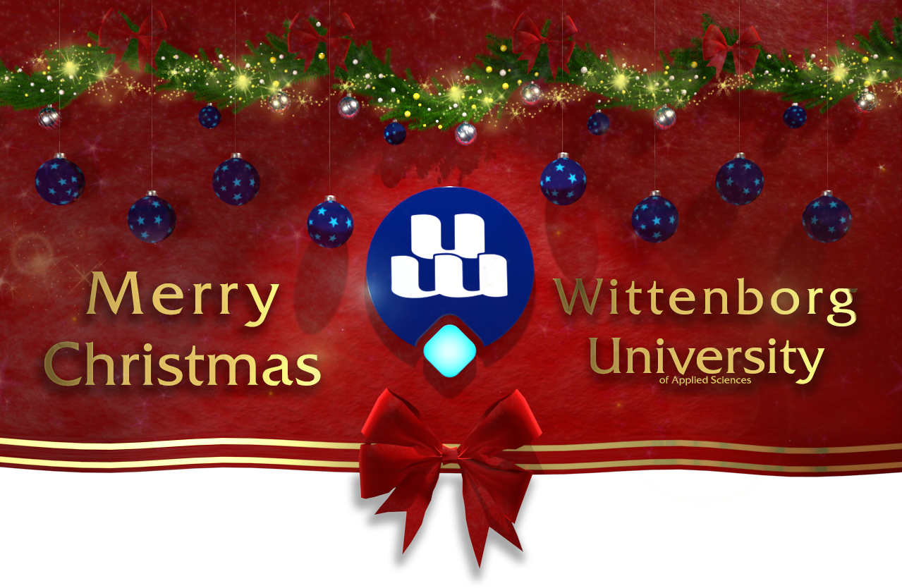 Festive Greetings from Wittenborg University 2016