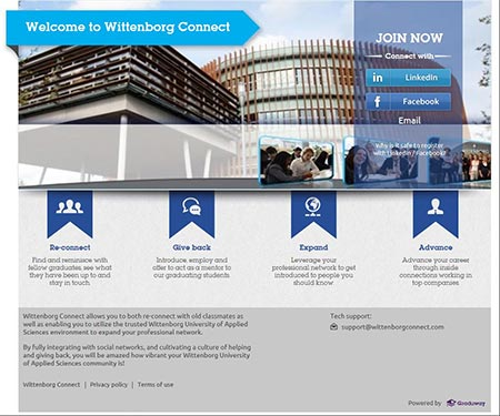 Wittenborg Introduces Powerful New Alumni Platform