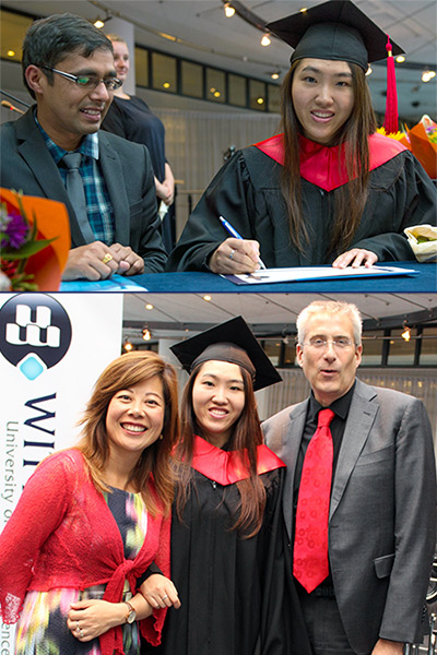 Wittenborg's Event Coordinator, Myra Qiu, Awarded MSc Degree