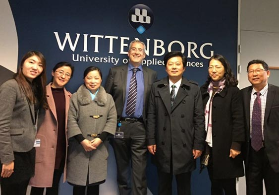 Wittenborg and China's Nantong University do Quick Exchange Visits - All in One Week