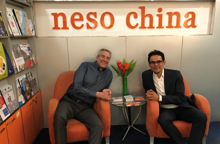 Wittenborg pays visit to Neso China