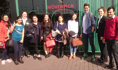 Wittenborg Students Visit 3 Hotels in One Day