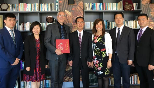 Chinese Delegation from Wuhan University Cements Relations with Wittenborg on Visit to Apeldoorn