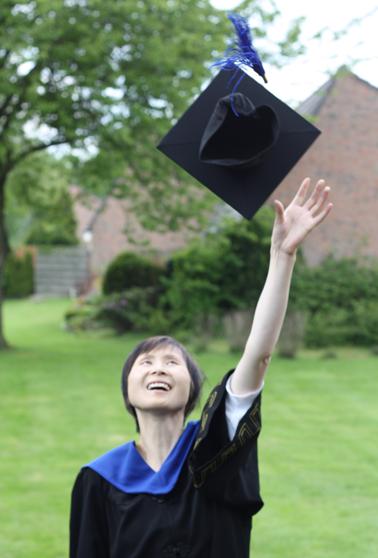 Debbie Graduation