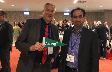 Wittenborg Wants International Students to Impact Economy, says its team at AACSB Conference in Vienna