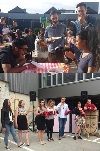 Wittenborg, Saxion and Fotovakschool Join Forces in Pre-Summer Barbecue