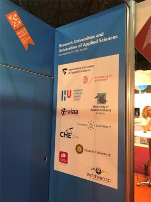 Dutch Make a Splash in Spain - Out in Full Force at EAIE Education Conference
