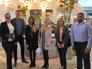 Students Get 5-Star Welcome at Park Hyatt Hotel in Vienna