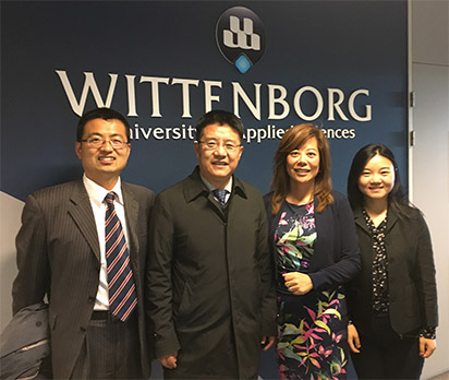 Visit from Chinese Embassy as Wittenborg Works Towards a 2+2 Degree Programme with Chinese Partner