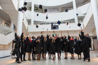 Master Students Graduating at Wittenborg in 2016